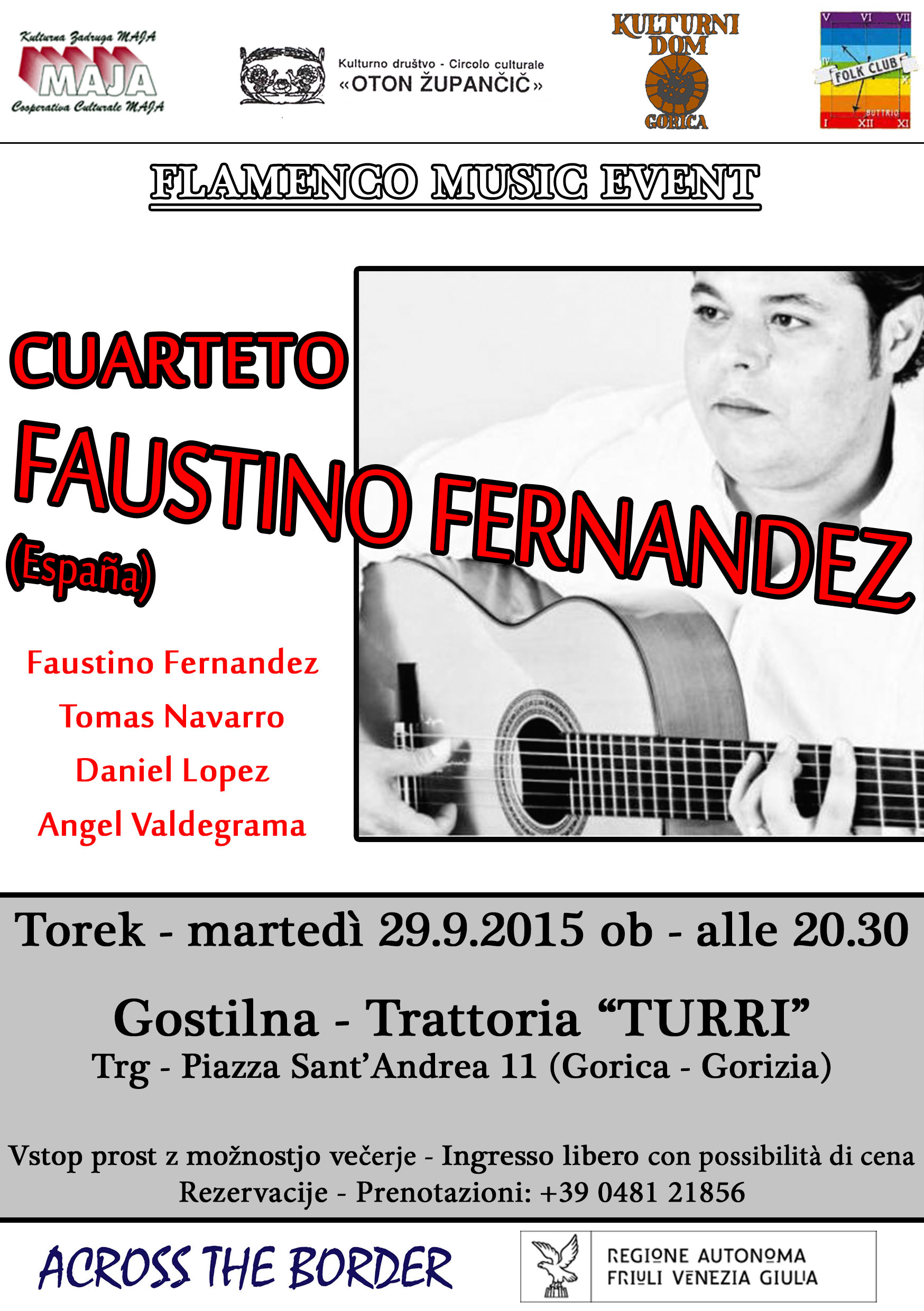 CUARTETO FAUSTINO FERNANDEZ - Across the Border