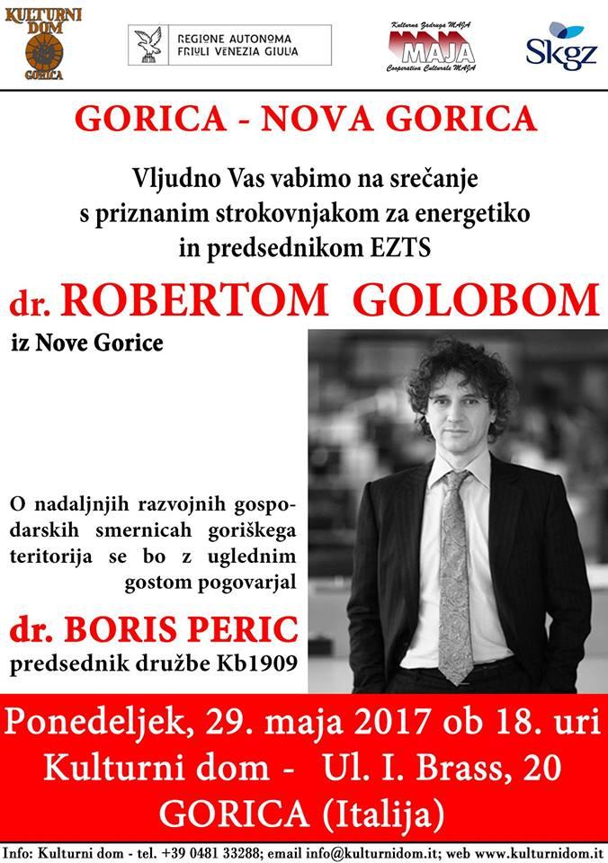 Srečanje z ROBERTOM GOLOBOM