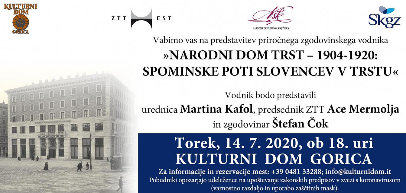Narodni dom Trst - 1904-1920