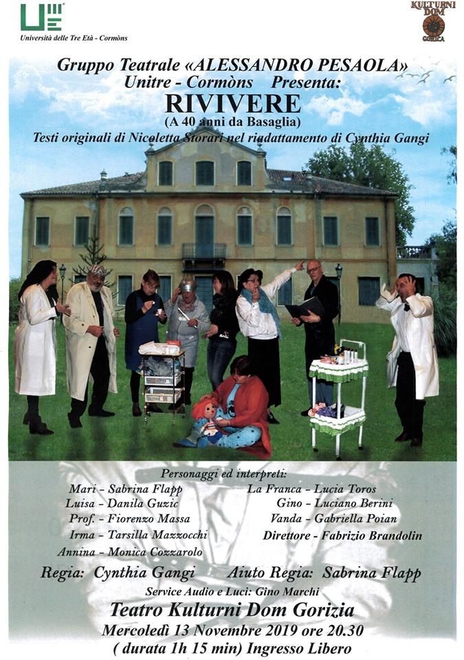 Rivivere ( a 40 anni da Basaglia) - Zaživeti ( po 40 letih Basaglie)