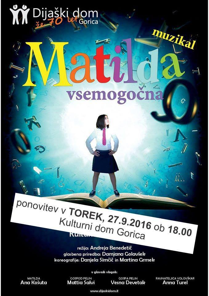 Vsemogočna Matilda - Muzikal
