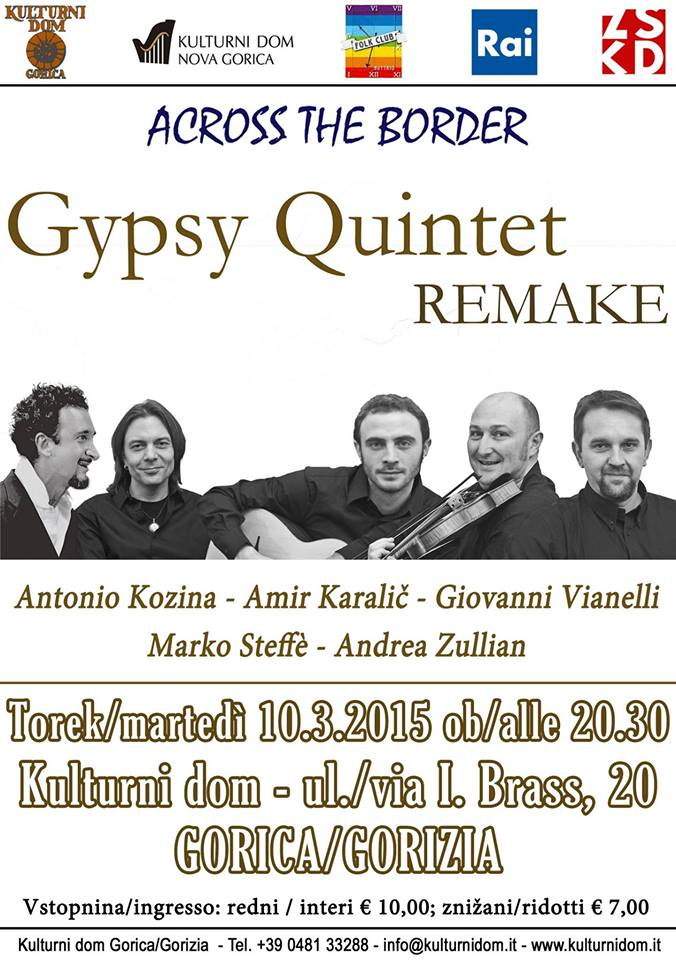 Gypsy Quintet Remake in concert