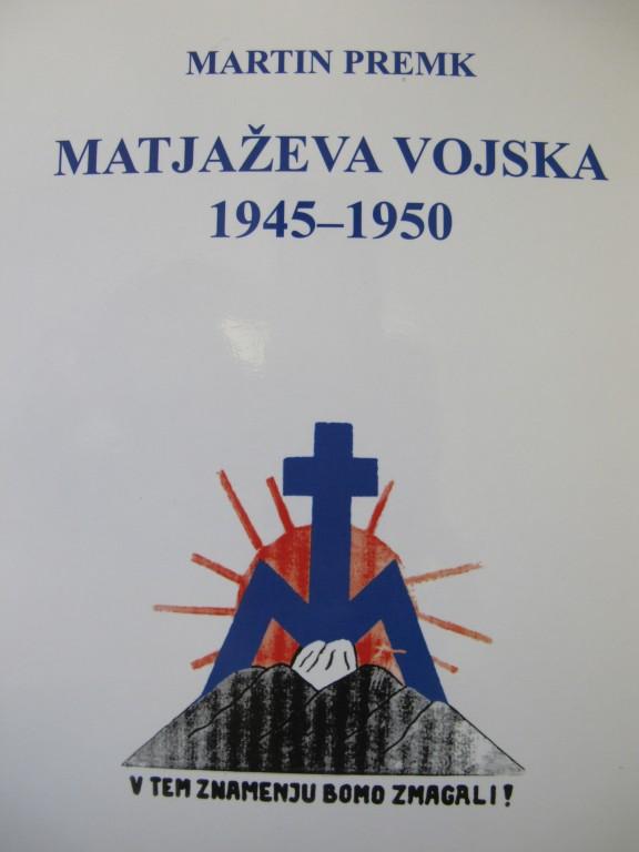 Matjaževa vojska 1945 -1950