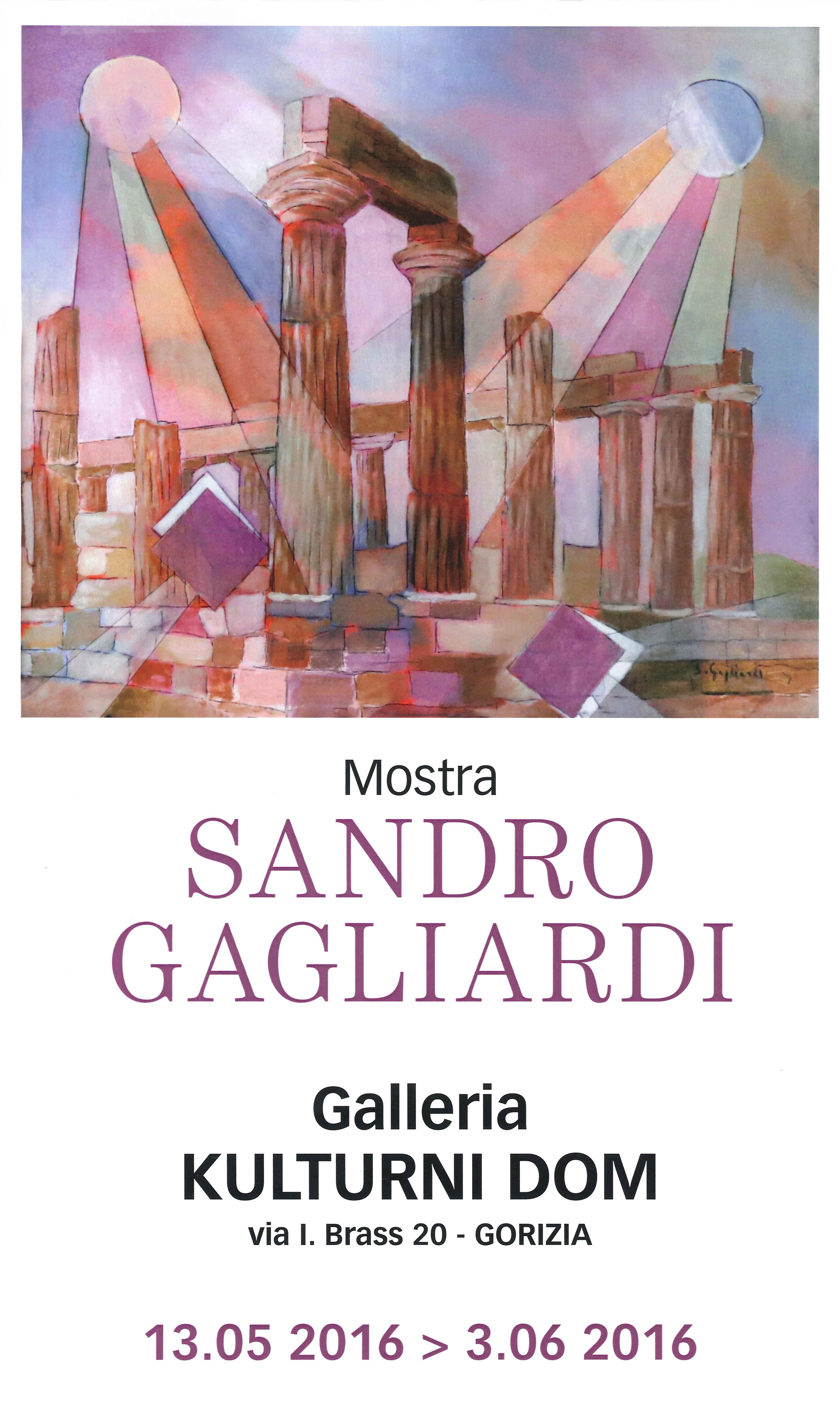 SANDRO GAGLIARDI mostra