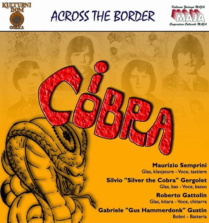 I Cobra in concert