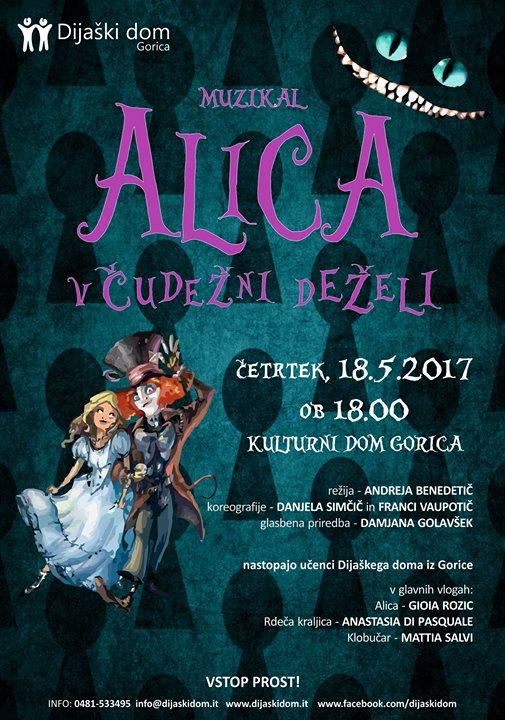 Alice nel paese delle meraviglie - musical