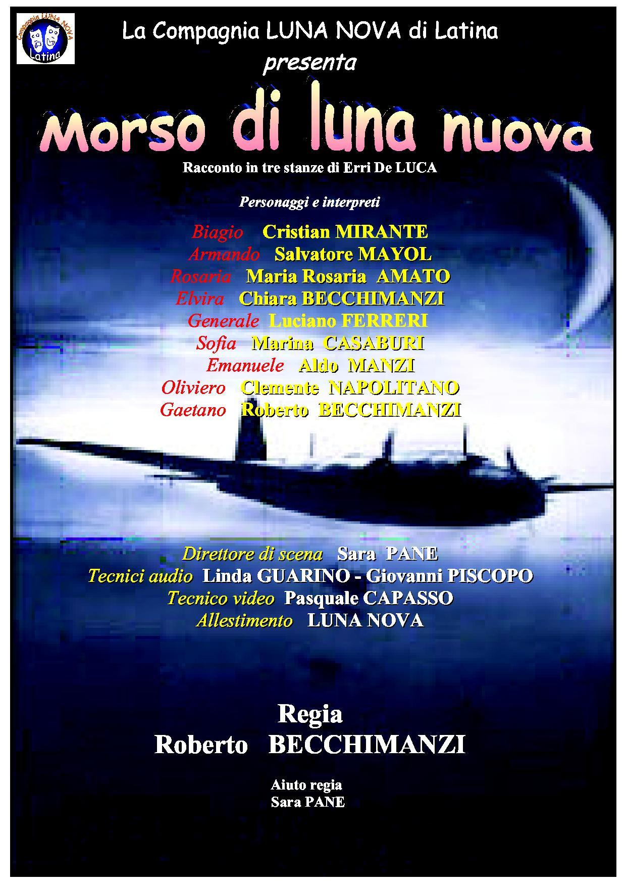 MORSO DI LUNA NUOVA - Castello di Gorizia