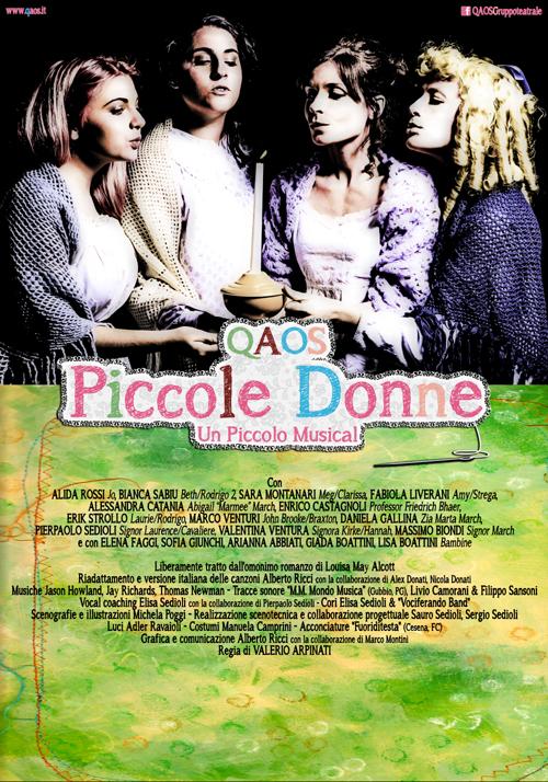 PICCOLE DONNE ...UN PICCOLO GRANDE MUSICAL