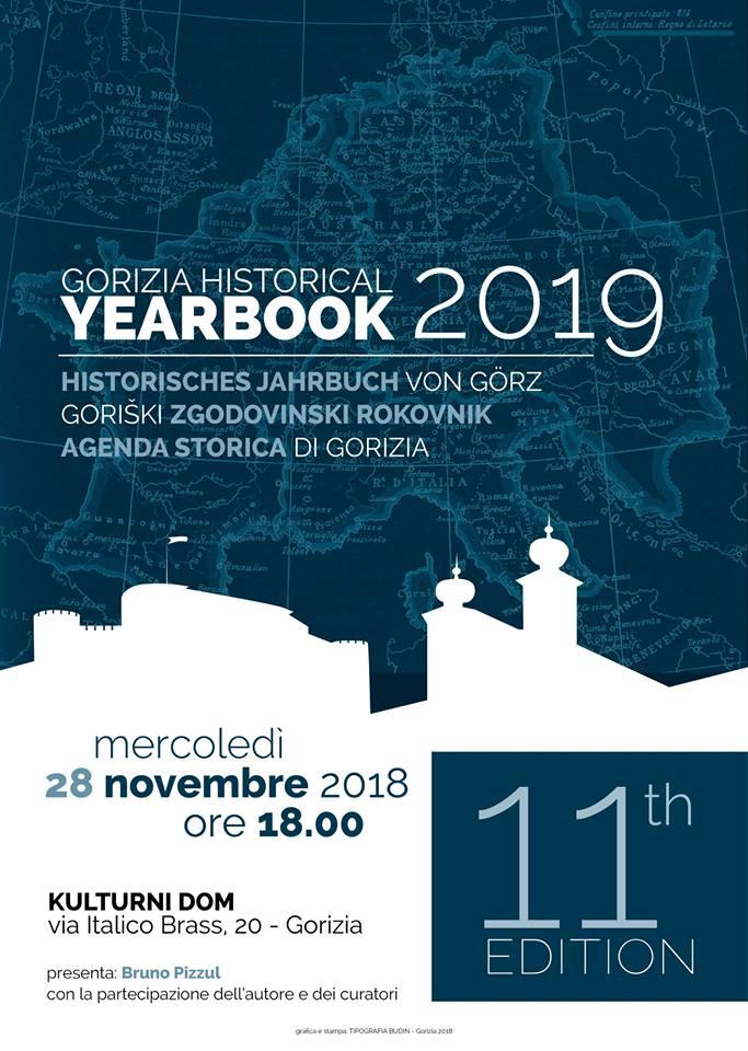 AGENDA STORICA DI GORIZIA 2019