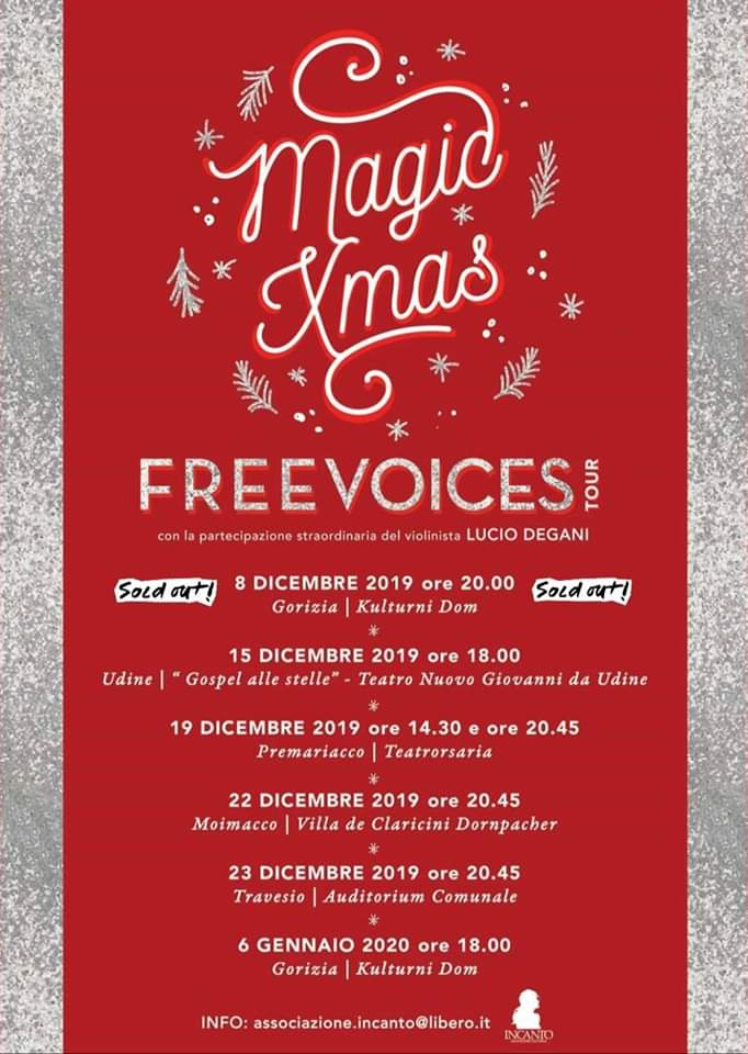 MAGIC XMAS - Freevoices