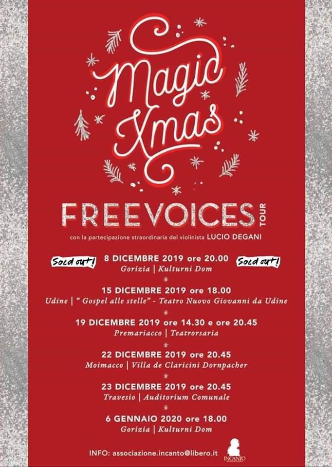 MAGIC XMAS - Freevoices