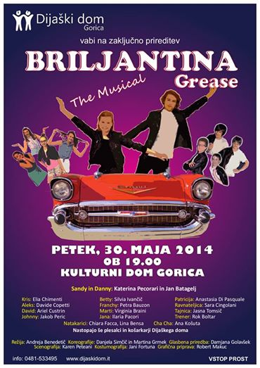 Musical »Grease – Briljantina«