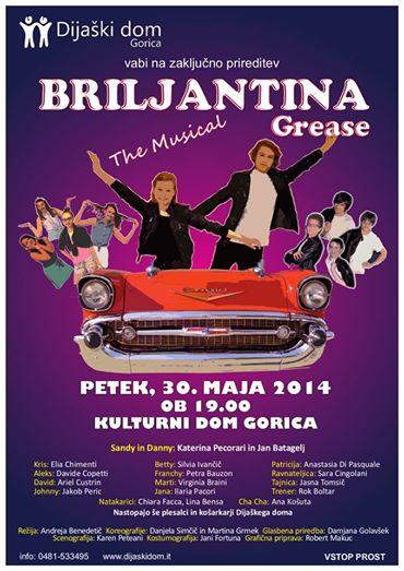Musical »Grease – Briljantina«