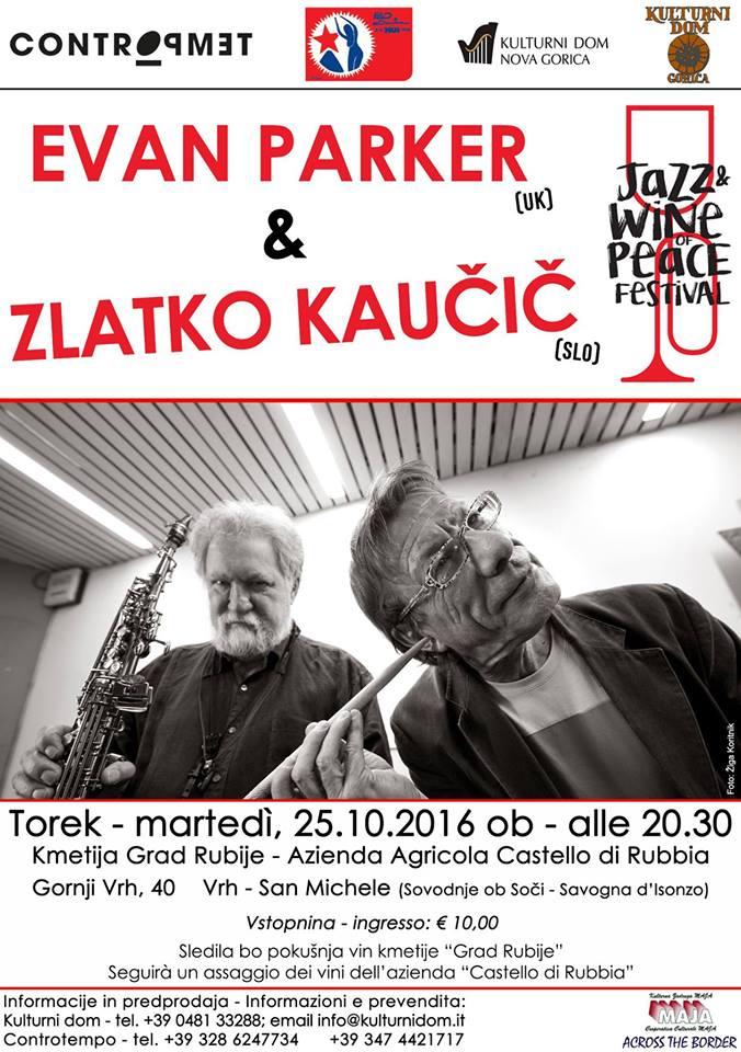 Evan Parker & Zlatko Kavčič