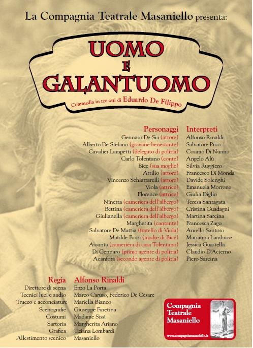 UOMO E GALANTUOMO - Castello di Gorizia 2015