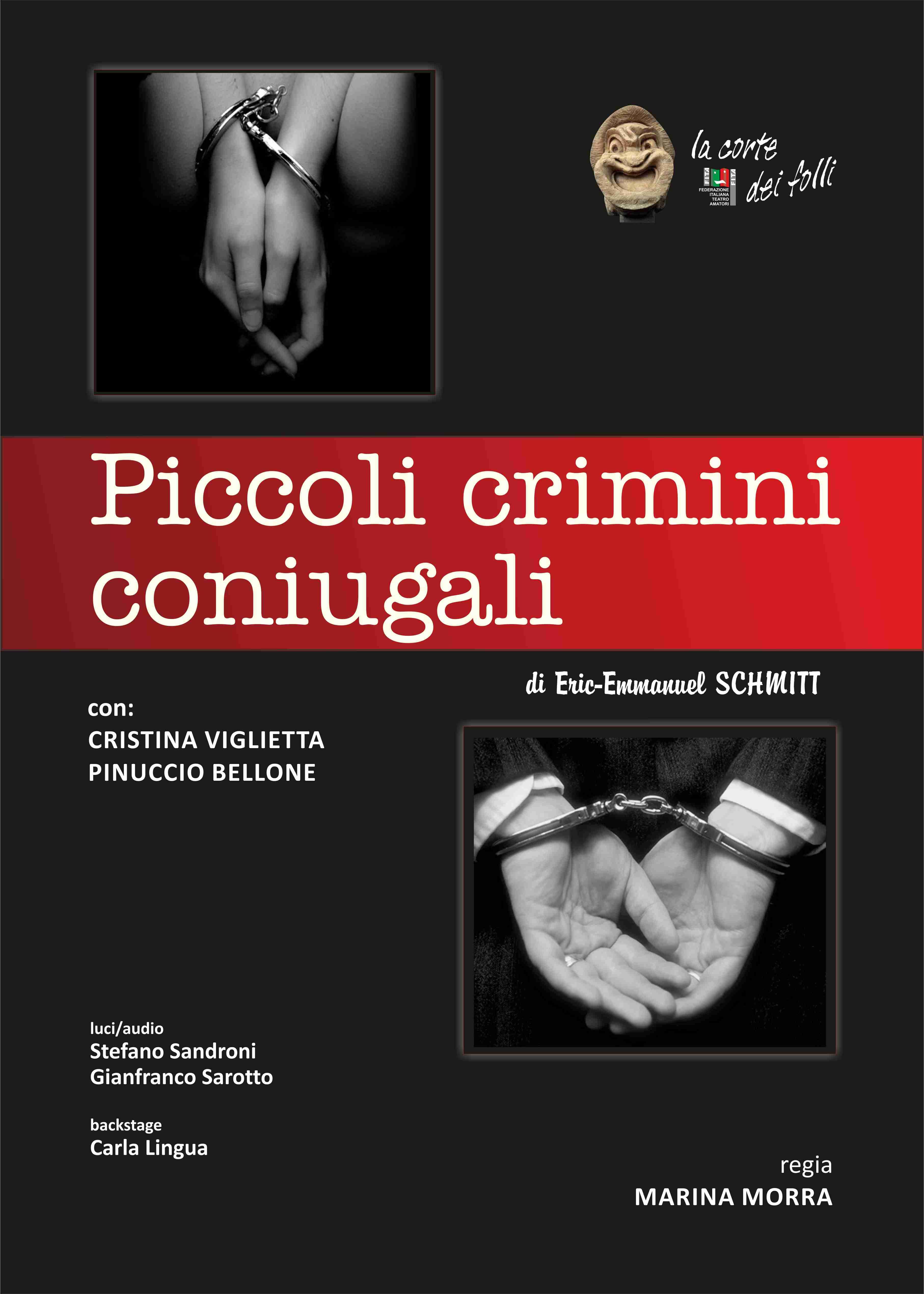 PICCOLI CRIMINI CONIUGALI - Castello di Gorizia 2015