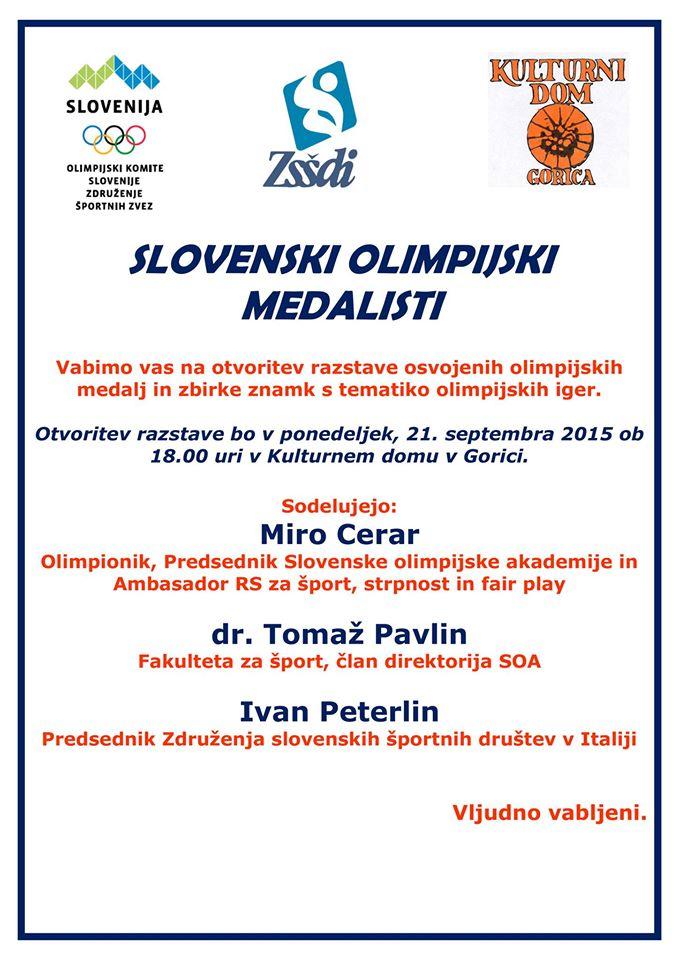 SLOVENSKI OLIMPIJSKI MEDALISTI