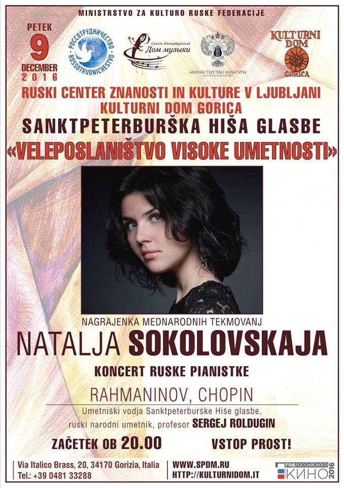 Natalija Sokolovskaja in concert
