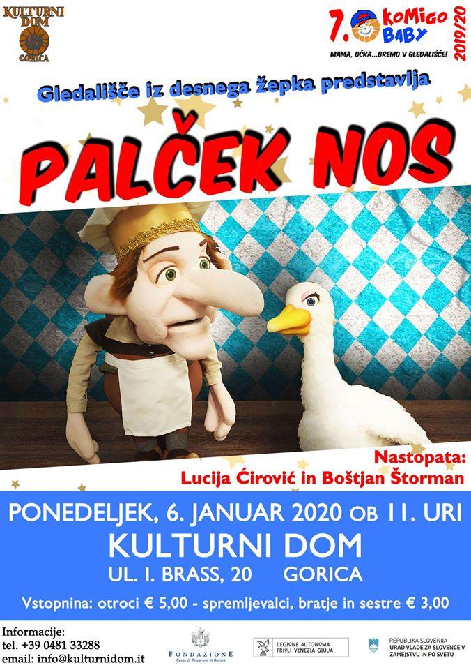 Palček Nos - Komigo baby