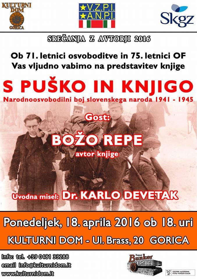 S puško in knjigo (Con il fucile e con il libro)
