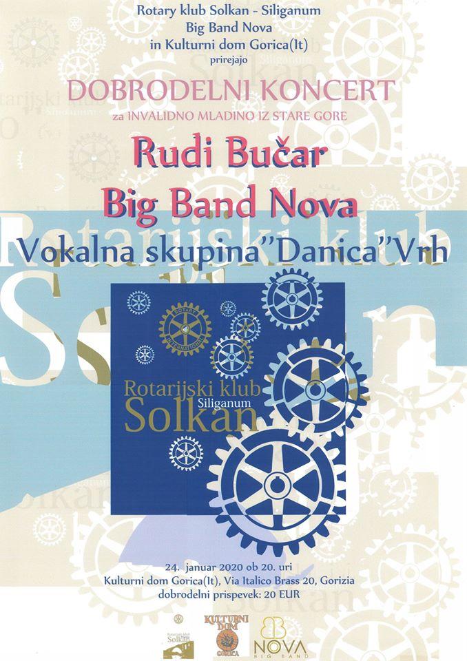 Rudi Bučar in concert