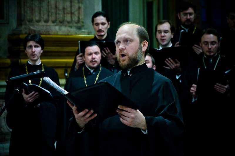 St. Petersburg choir in concert