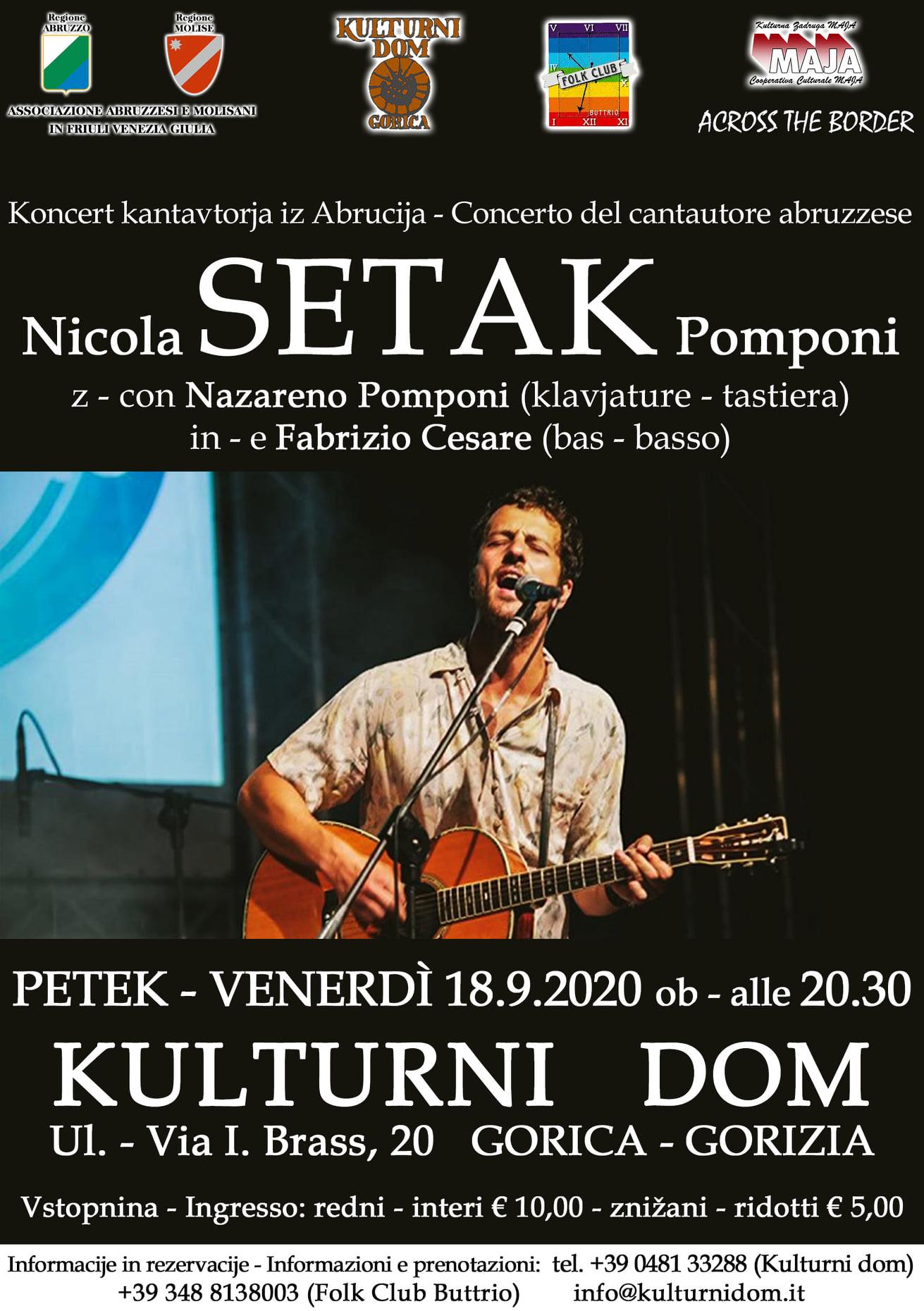 Setak in concert