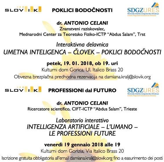 Intelligenza artificiale - l'umano - le professioni future