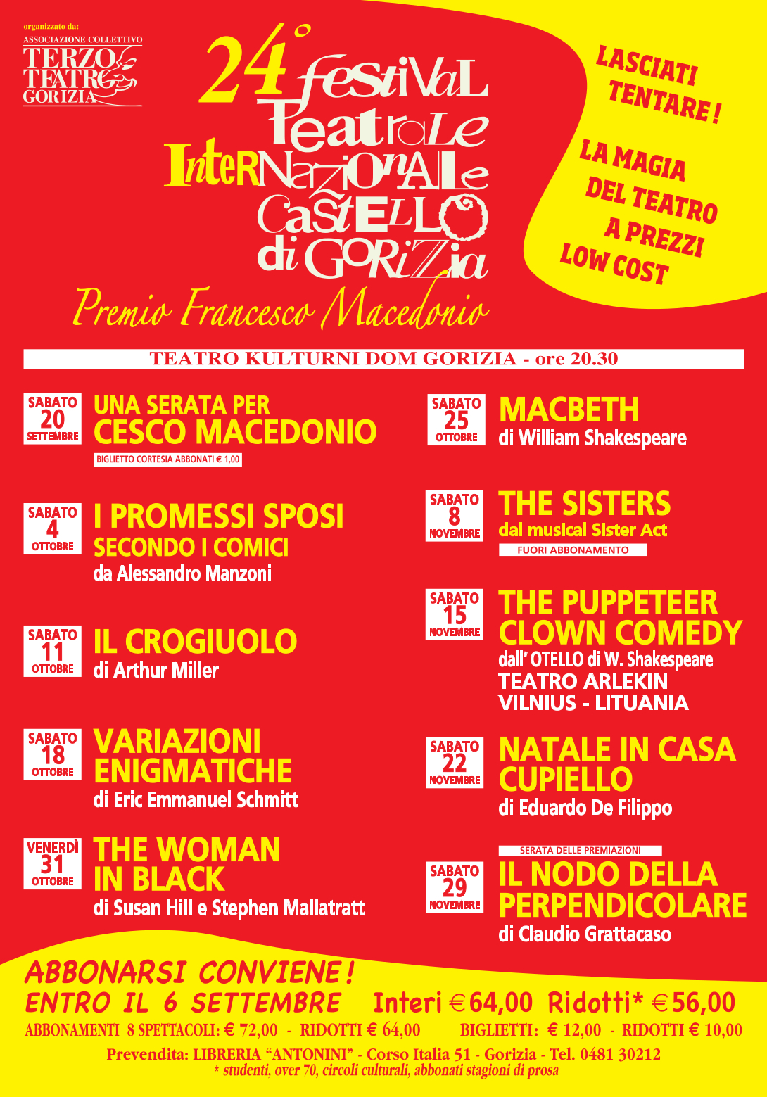 THE PUPPETEER clown comedy dall'OTELLO