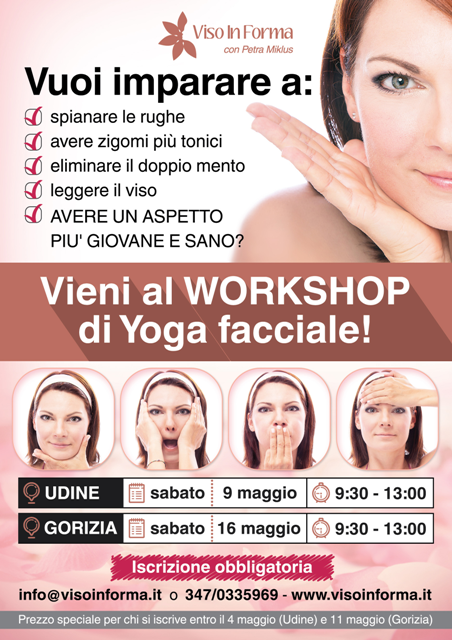 YOGA FACCIALE - WORKSHOP